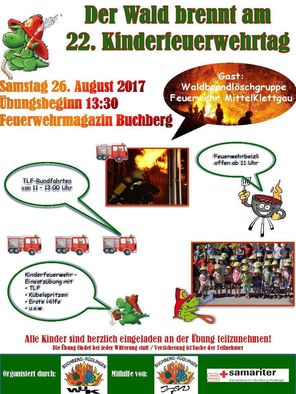 Flyer 2017 Kinderfeuerwehrtag